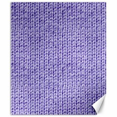 Knitted Wool Lilac Canvas 20  X 24