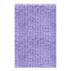 Knitted Wool Lilac Shower Curtain 48  X 72  (small)