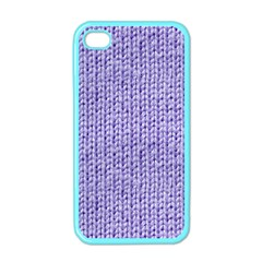 Knitted Wool Lilac Apple Iphone 4 Case (color)