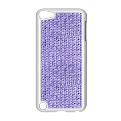 Knitted Wool Lilac Apple Ipod Touch 5 Case (white)