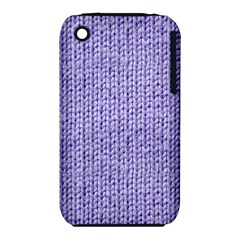 Knitted Wool Lilac Iphone 3s/3gs