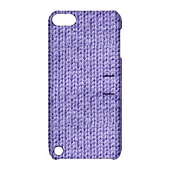 Knitted Wool Lilac Apple Ipod Touch 5 Hardshell Case With Stand