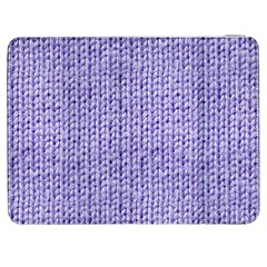 Knitted Wool Lilac Samsung Galaxy Tab 7  P1000 Flip Case