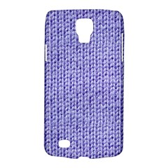 Knitted Wool Lilac Galaxy S4 Active