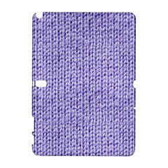 Knitted Wool Lilac Galaxy Note 1