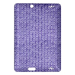 Knitted Wool Lilac Amazon Kindle Fire Hd (2013) Hardshell Case