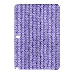 Knitted Wool Lilac Samsung Galaxy Tab Pro 12 2 Hardshell Case
