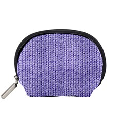 Knitted Wool Lilac Accessory Pouches (small)