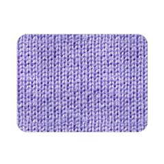 Knitted Wool Lilac Double Sided Flano Blanket (mini)