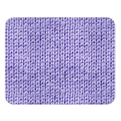 Knitted Wool Lilac Double Sided Flano Blanket (large)