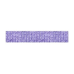 Knitted Wool Lilac Flano Scarf (mini)