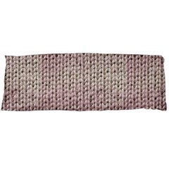 Knitted Wool Pink Light Body Pillow Case Dakimakura (two Sides)