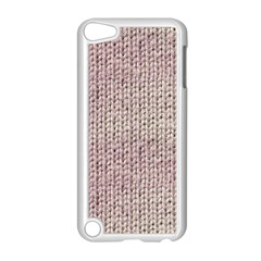 Knitted Wool Pink Light Apple Ipod Touch 5 Case (white)