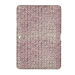 Knitted Wool Pink Light Samsung Galaxy Tab 2 (10 1 ) P5100 Hardshell Case