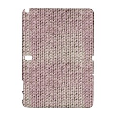 Knitted Wool Pink Light Galaxy Note 1