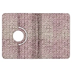 Knitted Wool Pink Light Kindle Fire Hdx Flip 360 Case