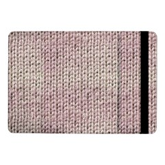 Knitted Wool Pink Light Samsung Galaxy Tab Pro 10 1  Flip Case