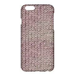 Knitted Wool Pink Light Apple Iphone 6 Plus/6s Plus Hardshell Case