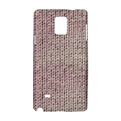 Knitted Wool Pink Light Samsung Galaxy Note 4 Hardshell Case