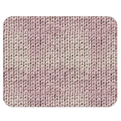 Knitted Wool Pink Light Double Sided Flano Blanket (medium)