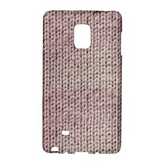 Knitted Wool Pink Light Galaxy Note Edge