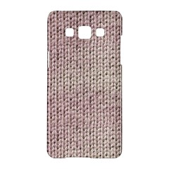 Knitted Wool Pink Light Samsung Galaxy A5 Hardshell Case