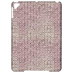 Knitted Wool Pink Light Apple Ipad Pro 9 7   Hardshell Case