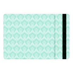 Damask Aqua Green Apple Ipad Pro 10 5   Flip Case