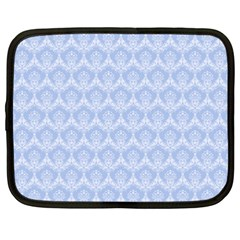 Damask Light Blue Netbook Case (xxl)
