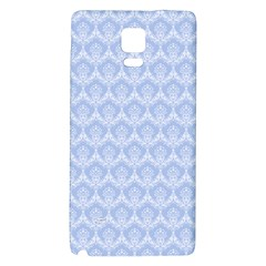 Damask Light Blue Galaxy Note 4 Back Case