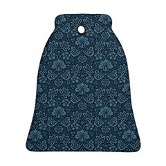 Damask Blue Ornament (bell)