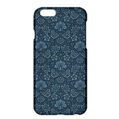Damask Blue Apple Iphone 6 Plus/6s Plus Hardshell Case