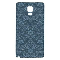 Damask Blue Galaxy Note 4 Back Case