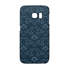 Damask Blue Galaxy S6 Edge