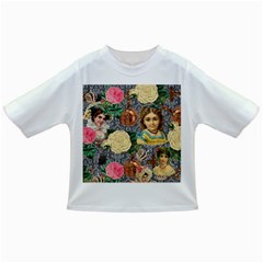 Damask Religious Victorian Grey Infant/toddler T Shirts
