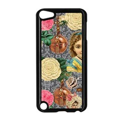 Damask Religious Victorian Grey Apple Ipod Touch 5 Case (black)
