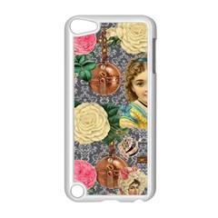 Damask Religious Victorian Grey Apple Ipod Touch 5 Case (white)