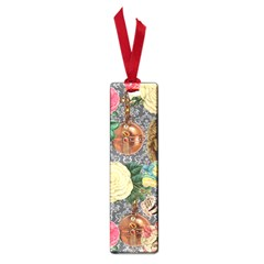 Damask Religious Victorian Grey Small Book Marks
