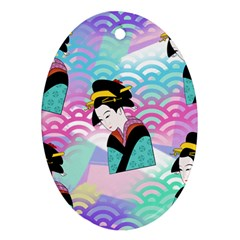 Japanese Abstract Ornament (oval)