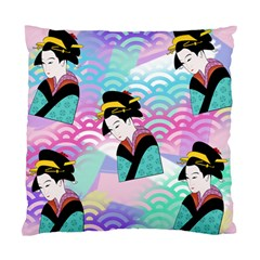 Japanese Abstract Standard Cushion Case (two Sides)
