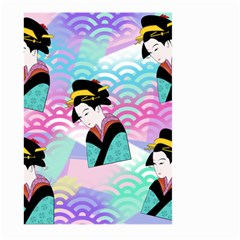 Japanese Abstract Large Garden Flag (two Sides)