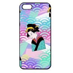 Japanese Abstract Apple Iphone 5 Seamless Case (black)