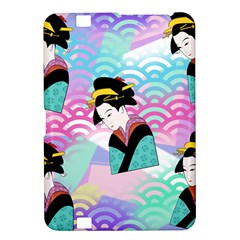Japanese Abstract Kindle Fire Hd 8 9