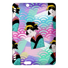 Japanese Abstract Kindle Fire Hdx Hardshell Case