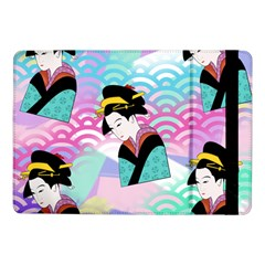 Japanese Abstract Samsung Galaxy Tab Pro 10 1  Flip Case