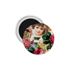 Little Girl Victorian Collage 1 75  Magnets