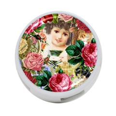 Little Girl Victorian Collage 4 Port Usb Hub (two Sides)