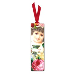 Little Girl Victorian Collage Small Book Marks