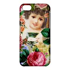 Little Girl Victorian Collage Apple Iphone 5c Hardshell Case