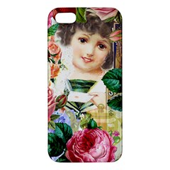 Little Girl Victorian Collage Iphone 5s/ Se Premium Hardshell Case